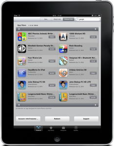 top ten best ipad applications